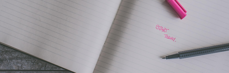 Hoe schrijf je een inleiding? Start today! Pen en papier