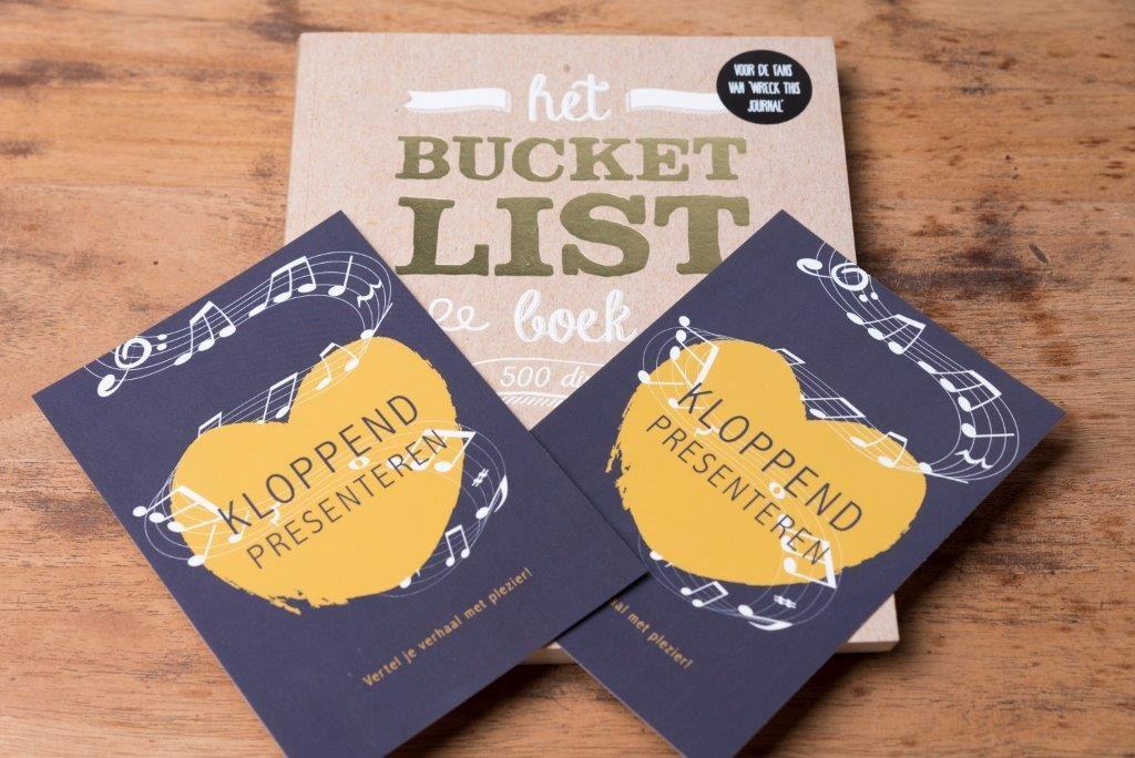kloppend presenteren bucketlist
