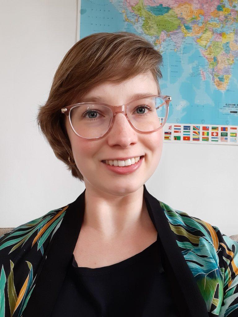 Tekstschrijver Linda Schlief portret